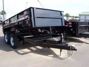 7' x 12' Dump Trailer (3/4 Ton Truck Required w/ Brake Controller)